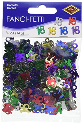 Fanci-Fetti 18 Silhouettes (multi-color) Party Accessory  (1 count) (.5 Oz/Pkg)]()