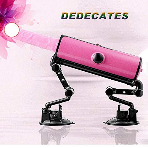 LLMLCF Sex Machine Machine Multi Angle Adjustable Masturbation Tool with Suction Cup Telescopic Dildo Heating Automatic for Female Toy Adult Sex Products by LLMLCF (Image #1)