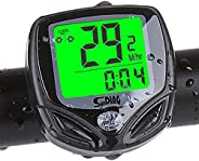 Cyclists Wireless Backlight Bicycle Computer Cycling Bike Odometer Speedometer Multi Function