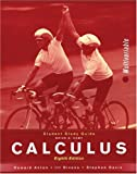Student Study Guide to accompany Calculus Multivariable, Eighth Edition