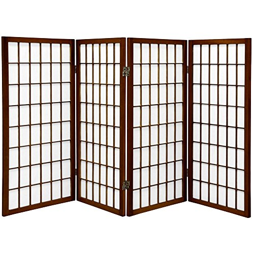 Amazoncom Oriental Furniture 3 Ft Tall Window Pane Shoji Screen