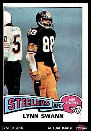 online store fee20 745dc Amazon.com: 1975 Topps # 282 Lynn Swann Pittsburgh Steelers ...