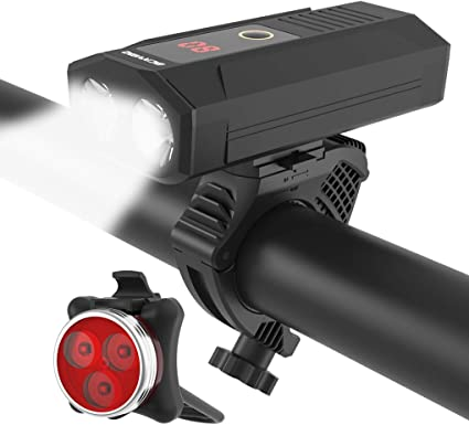 Hot!USB Rechargeable Front Rear Bicycle Light LED Bike Taillight Cycling Lamp LN