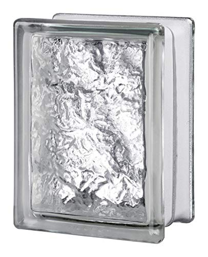Seves 5002890 8 x 6 x 4 in. Cortina Glass Block - Pack of 8