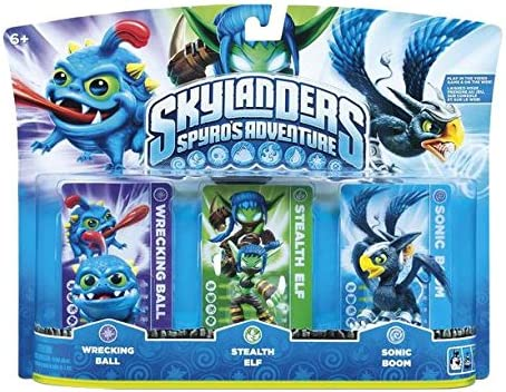 Skylanders Triple Pack D (3 Figuras): Amazon.es: Videojuegos