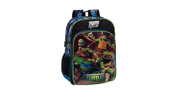 Tortugas Ninja 46123A1 Mochila Escolar, 15.6 litros, Color ...