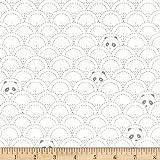 Art Gallery Pandalicious Jersey Knit Hidden Panda Cottonbud Fabric By The Yard