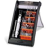 Kit Tournevis de Précision Magnétique 38 en 1 VADIV SS01 Outil Réparation Electronique pour Téléphone Cellulaire, Tablette, PC, Macbook, Jouets,Montre,Lunettes,Ordinateur