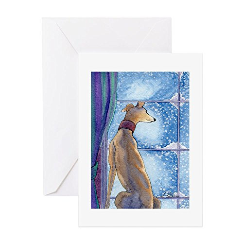 cafepress-greyhound-watching-snow-fall-greeting-cards-greeting-card-note-card-with-blank-inside-birt