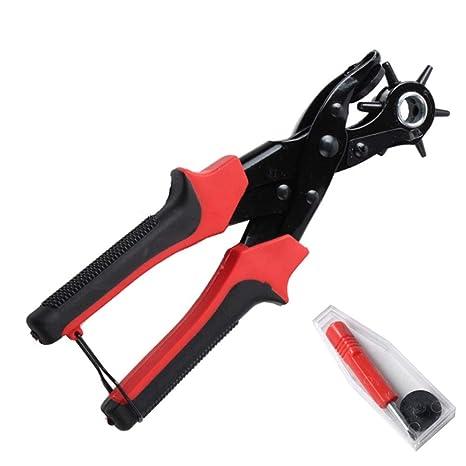 Dong Ran - Perforadora de cinturón con Palanca de transmisión con 2 ...