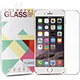 iPhone 7 Screen Protector, GMYLE Full-Cover Tempered Glass Crystal Screen Protector Shield Film Guard for iPhone 7 / 6 / 6s