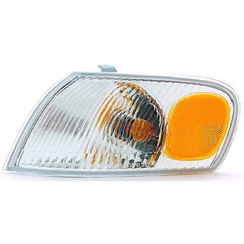 (Go-Parts » OE Replacement for 1998-2000 Toyota Corolla Parking Light Assembly/Lens Cover - Left (Driver) Side 81520-02040 TO2520150)