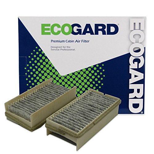 ECOGARD XC25246C Cabin Air Filter with Activated Carbon Odor Eliminator - Premium Replacement Fits Chevrolet Venture / Pontiac Montana, Trans Sport ()