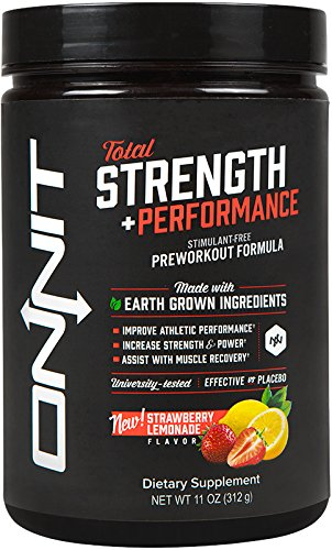 Product thumbnail for Onnit Total Strength Stimulant-Free Preworkout Supplement
