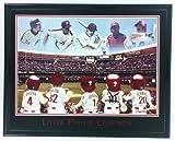 """Framed Philadelphia Phillies """"Little Legends"""" Print - Carlton Schmidt Dykstra Dalton & Ashburn"""