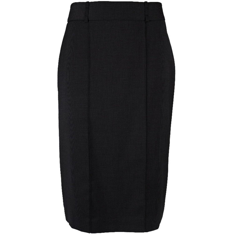 Alexandra Ladies Icona Straight Skirt Black