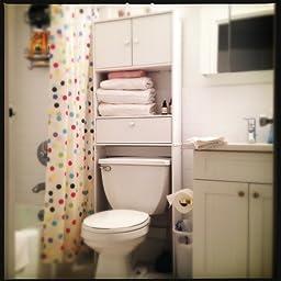 Amazon Com Zenna Home 9401w Drop Door Bathroom