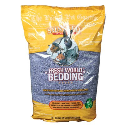 Sunseed Fresh World Bedding in Purple Size: 2130 Cubic Inch by Sunseed