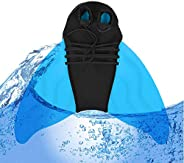 kkeineiyi Mermaid Swim Fins for Kids Adults Monofin One-Piece Mermaid Tail Flippers Diving Fins for Swimming f