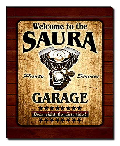 Saura Print - ZuWEE Saura Family Garage Gallery Wrapped Canvas Print