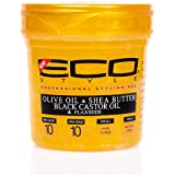 Eco Style Gold Olive Oil & Shea Butter & Black Castor Oil & Flaxseed 16oz