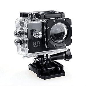 Sports Camera, Alotm Sport Action HD 1080P Digital Camera 30-Meter Waterproof 2 Inch TFT LCD LTPS 10MP Helmet Camera Cam Extreme Action Camcorder DVR