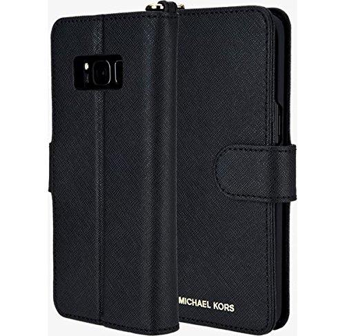 Michael Kors Saffiano Leather Folio Wallet Case For Samsung
