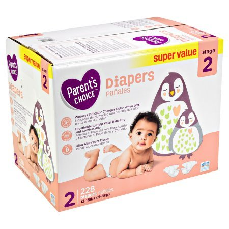 Amazon.com: Branded Parents Choice Diapers (Size 1 (168 ct), 2 Pack): Health & Personal Care