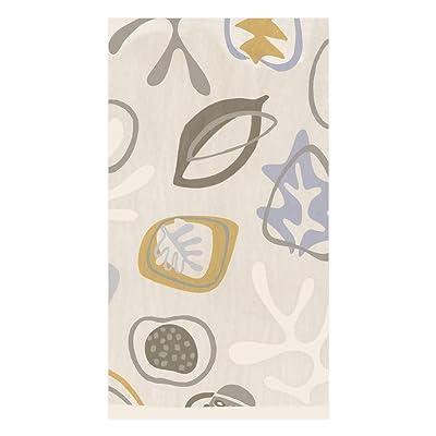 .com | Caspari Kinetic Paper Guest Towel Napkins in Grey, Four Packs of 15: Cocktail Napkins