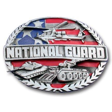 National Guard Belt Buckle