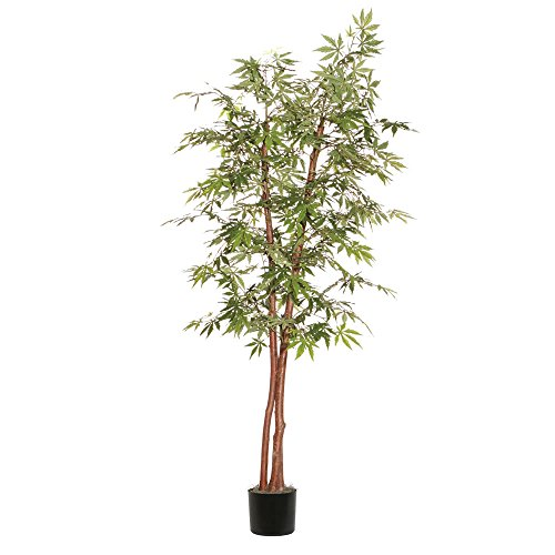 Vickerman Artificial Japanese Maple Deluxe Tree, 7' (Deluxe Maple)