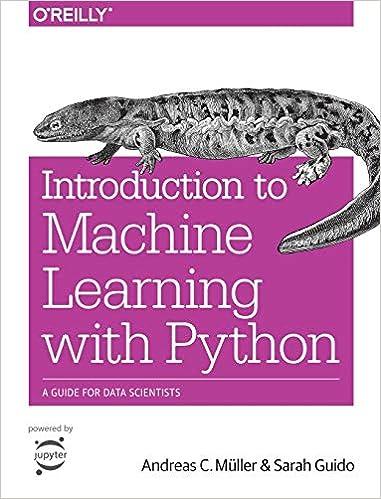 Introducción al aprendizaje automático con Python: una guía para científicos de datos