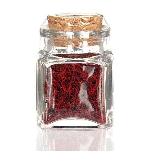 Azafran Saffron Threads,100% Pure Premium Saffron Quality Stigmas (5 Gram Spanish) [SUPER NEGIN] NON-GMO, organically grown by Cyrus Saffron (Image #1)