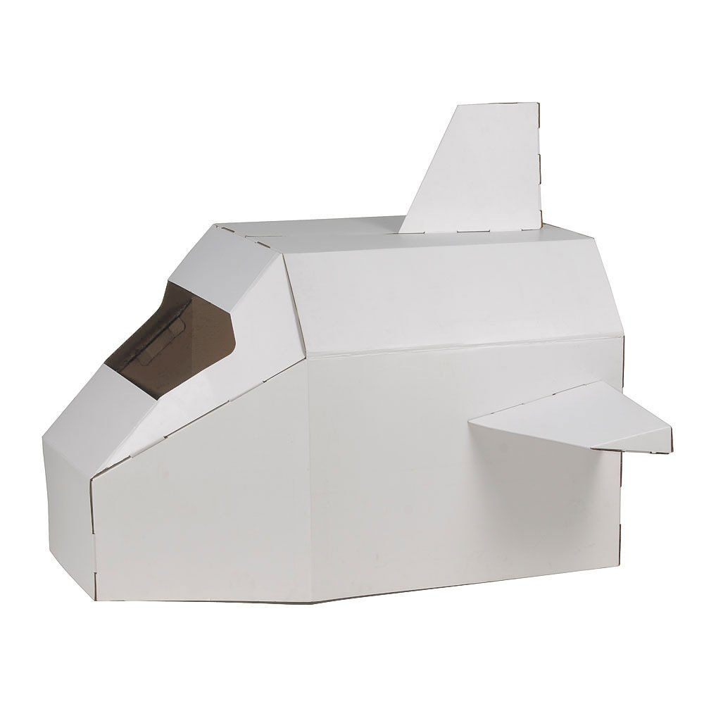 Hab Gut Ct001 Astronave De Cartón Speed Shuttle Nave