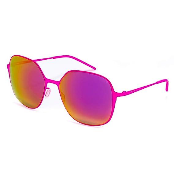 italia independent 0202-018-000 Gafas de Sol, Rosa, 56 para ...