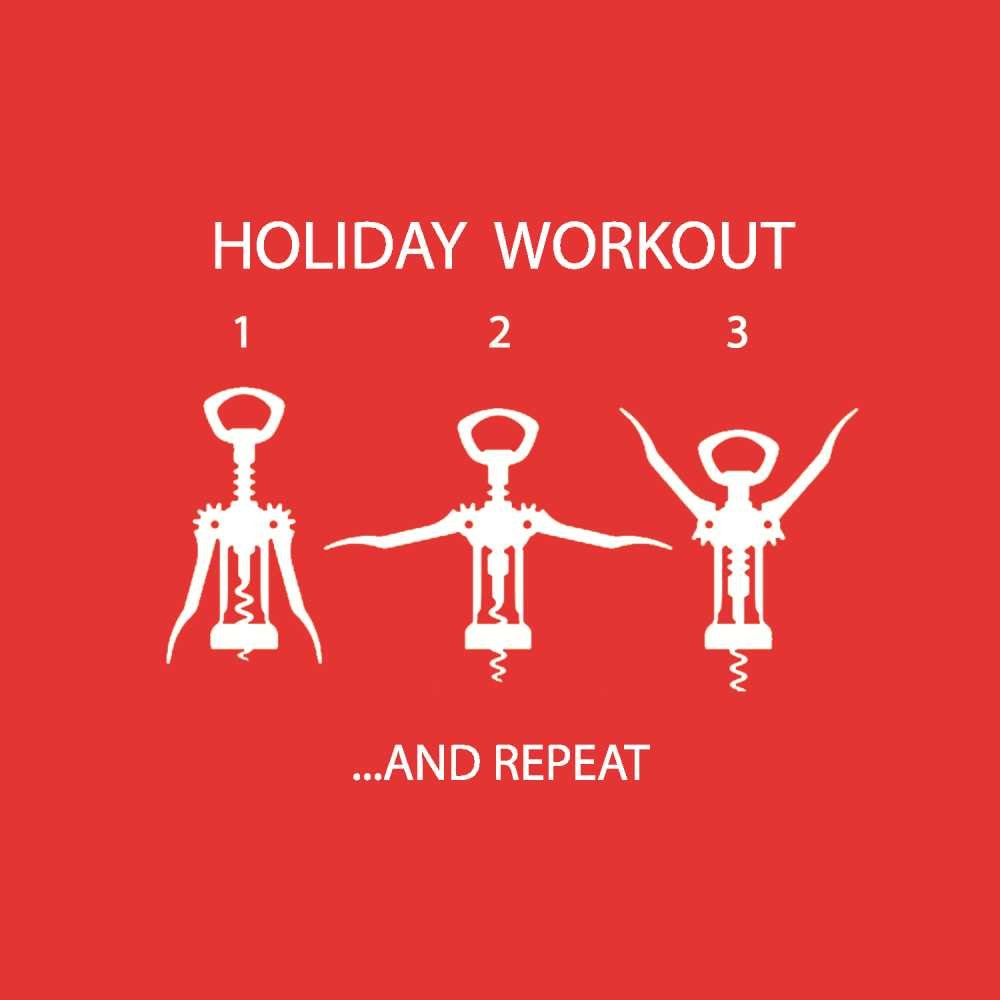 Paperproducts Design Holiday Workout Beverage Napkins, 5 x 5', Red 5 x 5 3251439