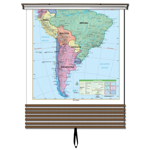 7 Map Essential Continent Wall Map Set (Essential Classroom Wall Maps)