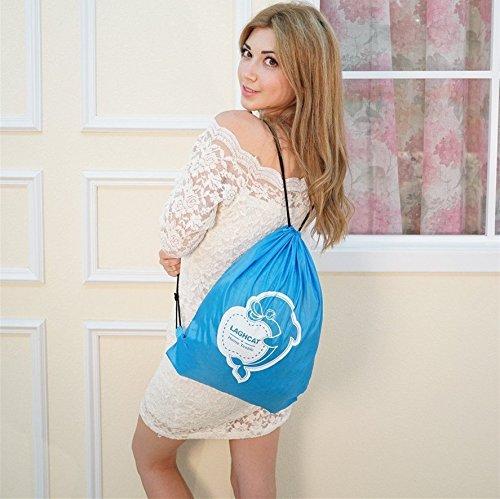 """LAGHCAT Mermaid Tail Blanket Knit Crochet and Shark Blanket for Adult,Sleeping Bags (71""""x35.5"""", Dark Gray Shark)"""