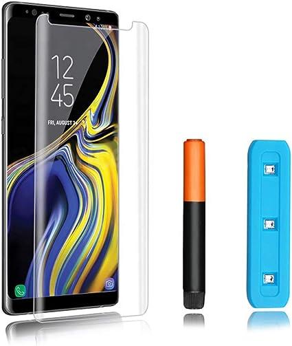 KSTORE365 Cristal Templado Samsung Note 8, Protector de Pantalla ...