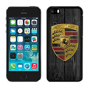Beautiful iPhone 5C Case ,Unique And Lovely Designed With Porsche logo iPhone 5C Phone Case