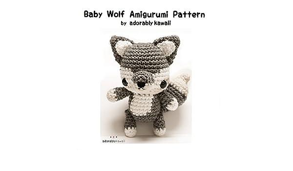 Wolf Pattern Amigurumi Pattern Crochet Stuffed Wolf Crochet | Etsy | 350x600