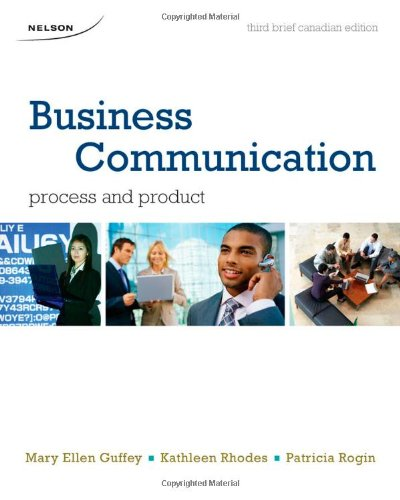 Business Communication: Process and Product Brief