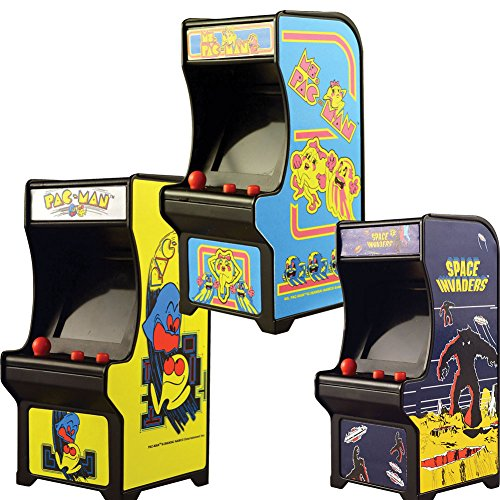 - Johnson Smith Co. (Set) Classic Handheld Arcade Games - Pac-Man, Ms Pac-Man and Space Invaders