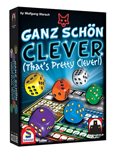 Stronghold Games 6025SG Ganz Shon Clever (That's Pretty Clever) (The Best Stronghold Game)