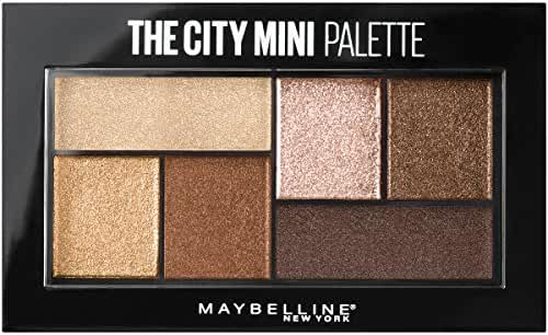 Maybelline New York The City Mini Palette, Rooftop Bronzes, 0.14 Ounce