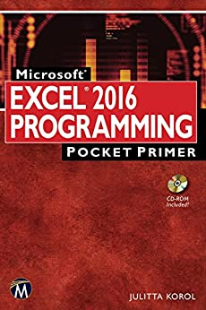 Excel 2016 Programming Pocket Primer by [Korol, Julitta]