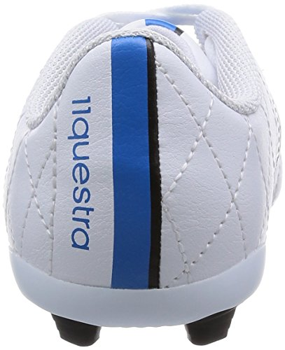 adidas Performance 11 Questra FxG J - Zapatillas de fútbol para niños FTWR White/Core Black/Solar Blue2 S14