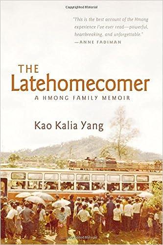 Book The Latehomecomer: A Hmong Family Memoir