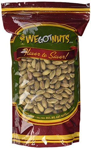 Turkish Pistachios Antep Roasted Salted , In Shell - We Got Nuts 2.5 lb by We Got Nuts
