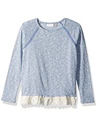 The Children's Place Girls Big Girls Lace Snit Sweater